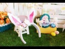DIY Mini Bunny Ears Headband Tutorial - for Nendoroid at Easter