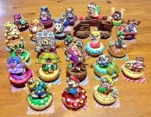 Paper Mario RPG Cookies and Donuts