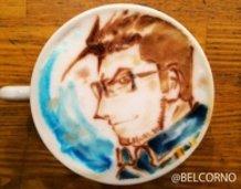 Latte Art [Maes Hughes] Fullmetal Alchemist