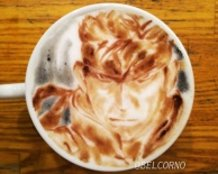 Latte Art [Solid Snake] Metal Gear Solid