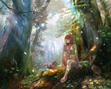 Mori girl (forest girl)