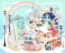 Miku in Fantasy Land