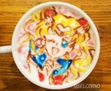 Latte Art [Sailor Moon]