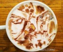 Latte Art [Trafalgar Law] One Piece