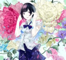 The High School Girl of Flowers