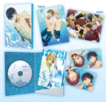 "Blu-ray & DVD - TV Anime ""Free! Vol. 1"""