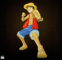 Art With Salt - Luffy
