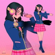Academy D.Va from overwatch