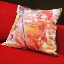 Hanako's Illustrated Cushion Cover