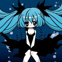 Hatsune Miku (Deep Sea Maiden)