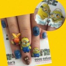 3D nail of Minions