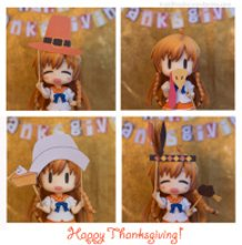 Happy Thanksgiving from Mirai