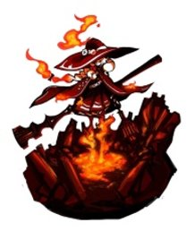 Witch of flame
