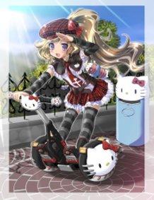 "Komatsu Eiji ""Hello Kitty to Issho!"" Collaboration Project"
