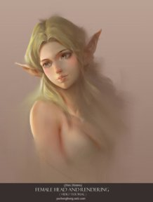 Elf portrait ( video tutorial )