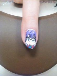 Arale-chan - Dr. Slump Nail Art!!!!