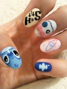Stitch Nails♪