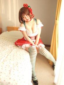 Santa cosplay