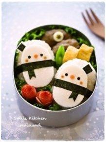 Onigiri Snowmen