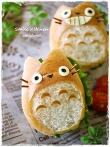 My Neighbor Totoro Roll Sandwich♪