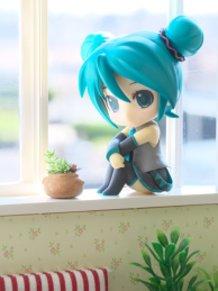 By a window