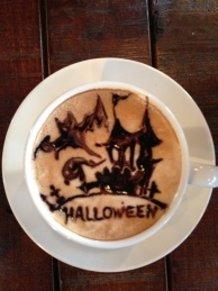 latte art~Halloween2~