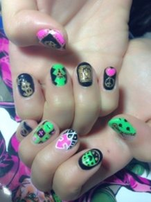 JoJo's Bizarre Adventure Nails!