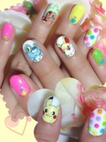Pokemon Nails!!
