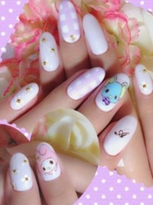 My Melody Nails