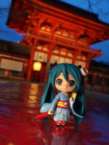 At Shimogamo shrine