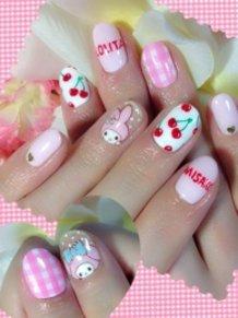 My Melody Nails