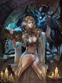 Vanilla, Accursed Lady  / 呪いの館の支配者ヴァニラ