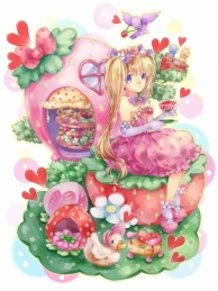 Strawberry Tea Party