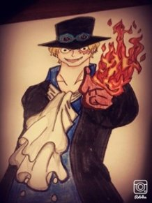 One Piece-fan-art-SABO