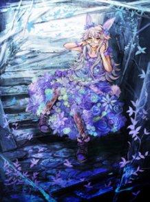 Rabbit and Flower Dress