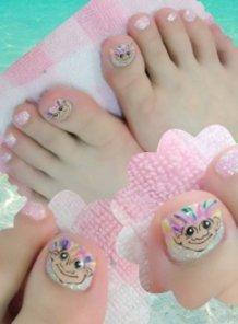 Troll Doll Nails !!