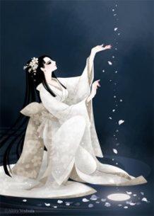 "Japan Beauty ""Snow,Moon & Flowers"""