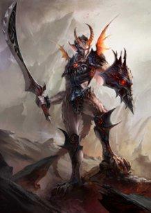 Demon soilder
