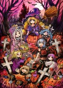 Halloween Cosplay girls