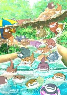 Otter water slide