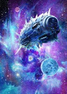 Antimatter Light Speed Ship