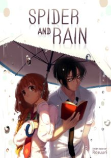 Spider and Rain (manga cover)