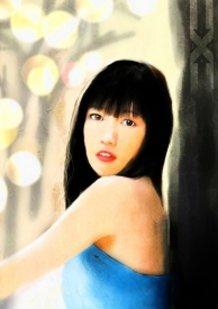 Mayu Watanabe [digital Painting]