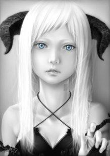 Anemone Remake (Black and White)