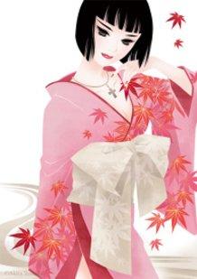 "Japan Beauty ""Autumn Flowers"""