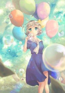Balloon,Afternoon