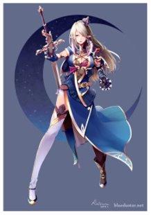 night blue knight