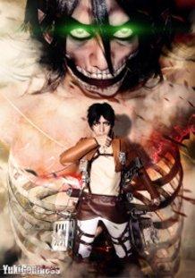 Shingeki no Kyojin / 進撃の巨人 inside outside