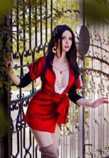 Cattleya Baudelaire (Violet Evergarden) Cosplay by Calssara