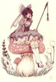 Toadstool Fairie Color